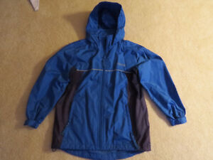 Boy's two-tone Blue Spring/Fall Jacket. Size 8. Like New.