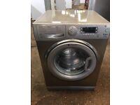 Hotpoint WMUD942 9kg 1400 Spin Washing Machine in Satin Silver #3978