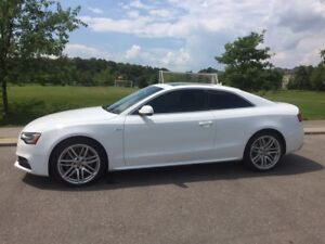 2017 White Audi A5 Lease Takeover