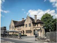 Bar and waiting staff wanted for award winning hotel and restaurant