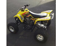 * SUZUKI LTZ400 ROAD LEGAL QUAD ALARM IMMOBILISER LTZ RAPTOR 700 LTR YFZ450 YZF LEGAL 12 MONTHS MOT