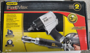 Air Tool 2 piece, Stanley Fat-Max, Estate Sale NEW IN BOX  $95