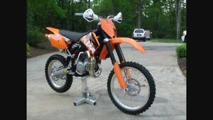 Wanted 105 or 125 ktm racing bike