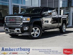 2016 GMC Sierra 2500 SLT 4WD - DIESEL, NAVIGATION, HEATED SEATS!