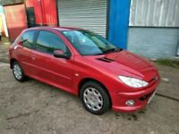 Peugeot 206 / 1.4 / 3 door / 2009 / Not fiesta 1.2 Service History Cheap insurance