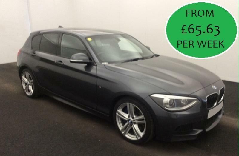 £282.20 PER MONTH - 2014 BMW 125 2.0TD M SPORT- 5 DOOR DIESEL MANUAL HIGH SPEC