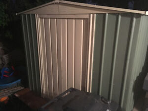 8ft x 6ft Metal Shed