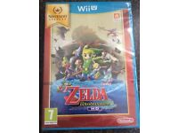 BRAND NEW!! Wii U game; The Legend Of Zelda- The Windwaker