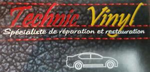 Réparation sièges automobiles