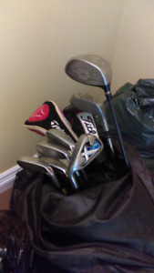 """SOLD""""""""""""Left handed golf clubs Callaway, titelist, taylormade"""