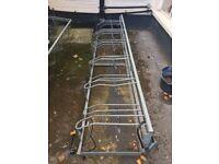 Bike Storage Racks - Metal bike racks to store 24 bikes