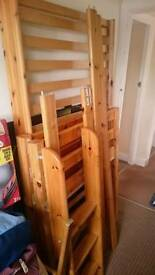 ### Solid pine Flexa Bed Single ###