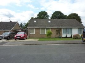Lovely unfurnished 3 bedroom chalet bungalow to rent on outskirts of Cirencester