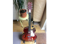 1960s Harmony Rocket H53 Electric Hollowbody Guitar