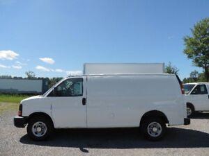 2013 Chevrolet Express Cargo Van 2500 10' BOÎTE COMME NEUF!