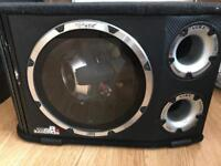 Vibe Blackair Bandpass B12 12inch Active Amplified Subwoofer