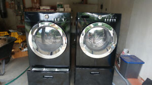 fridgedaire washer and gas dryer