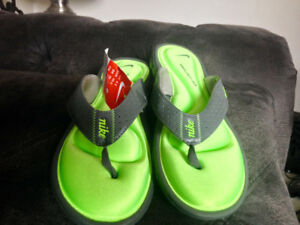 Brand New Ladies Nike And Adidas Sandals Both Size 9