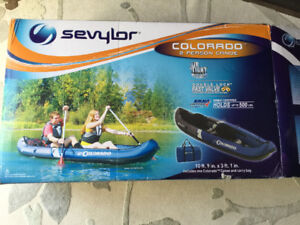 2 PERSON CANOE by SEVYLOR ( inflatable)