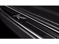 Range Rover Vogue L322 Door Sill Plates Stainless Steel Kahn Logo