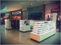 Retail Kiosk - Bespoke Display Corian Unit - great business