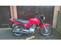 Honda 125cc geared bike