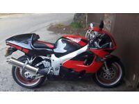 Suzuki gsxr 750 srad 1999 injected. Grat condition. 12 months MOT. Just serviced. Red black.