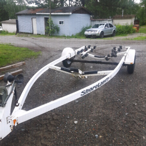 Shoreland'r boat trailer
