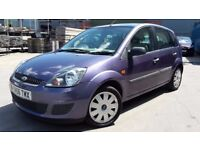 FORD FIESTA STYLE CLIMATE 1.2, 56 REG 2007, 10 MONTHS MOT, FULL SERVICE HISTORY