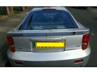 2002 TOYOTA CELICA 1.8 VVTI 1ZZ-FE IN SILVER MANUAL BREAKING FOR PARTS