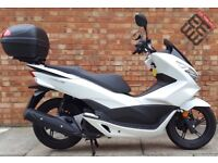Honda PCX 125 (Registered 2017), As new condition with ONLY 360 Miles