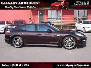 2013 Porsche Panamera 4 AWD/NAVI/B.CAM/LEATHER/SURNOOF
