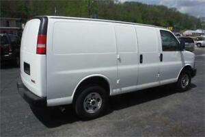 2011 GMC Savana Cargo Van White Inspected & Serviced