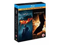 The Dark Knight and Batman Begins (Double Pack) [Blu-ray]