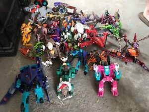 Late 80's to early 90's Transformers and Beast Wars collection