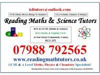 Reading Maths & Science Tutors (Sun Street Centre)