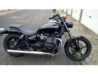 Triumph speed master 865cc mini cannon exhaust sissy bar very well looked after 1 lady owner