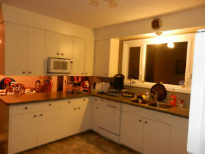 Furnished room for rent- Aug - Mid Oct.