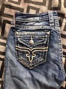 "Ladies Rock Revival ""Holly Root"" jeans size 27"