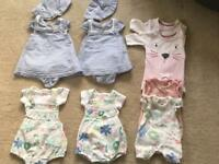 Twin baby bundle - M&S 7lbs x 4 sets