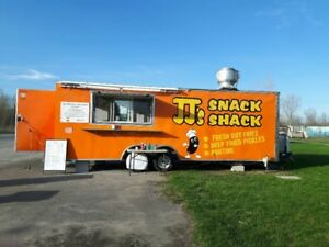 24' Food truck trailer/Chip Wagon