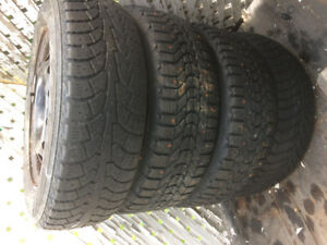 Studded Tires & rims for sale