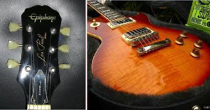 Epiphone Les Paul model, by Gibson