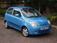 EXCELLENT VALUE!! 2006 CHEVROLET MATIZ 1.0 SX 5dr, ONLY 44000 MILES, FSH, 1 FORMER KEEPER