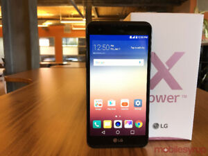 LG Xpower k210 16GB with case!