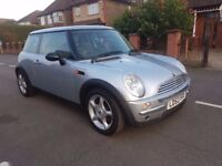 1 Owner* Panoramic Roof* Low Mileage 51K* Mini Cooper Automatic 1.6 L Petrol 2003 Hatch Hpi Clear