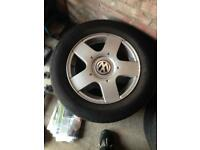 """Immaculate vw alloys 15"""""""