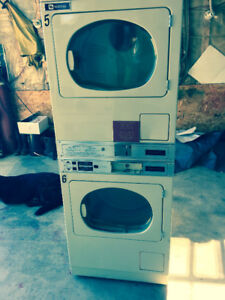 Maytag propane coin operated Dryers for sale ....