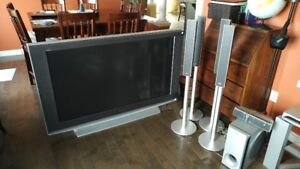 Sony 55' LCD TV and Speakers, Amp, Sub and more
