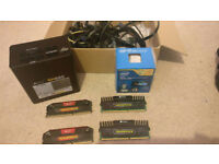 Computer bits - 4790K CPU, memory, and PSU
